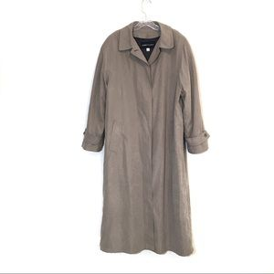 Anne Klein Vintage Trench Coat Removable Liner